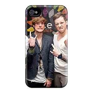 Anti-scratch And Shatterproof Mcfly Band Phone Case For Iphone 4/4s/ High Quality Tpu Case