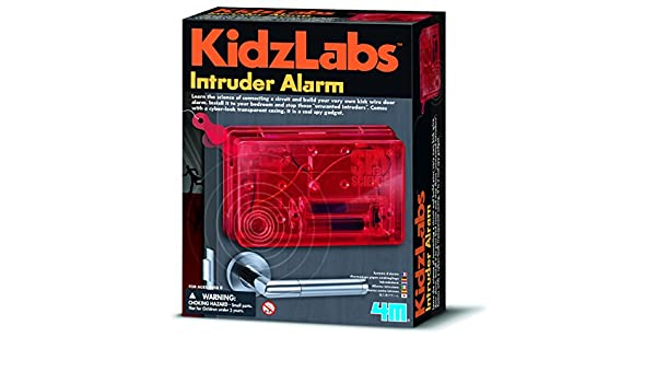 Amazon.com: Young Inventor Kidz Labs Spy Science Intruder Alarm Kids Children Girls Boys Secret Agent Set Xmas Gift Fun Toys & Games Idea Age 8+: Toys & ...