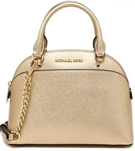 Michael Kors Gold Handbag - 1