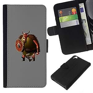KingStore / Leather Etui en cuir / HTC Desire 820 / ;