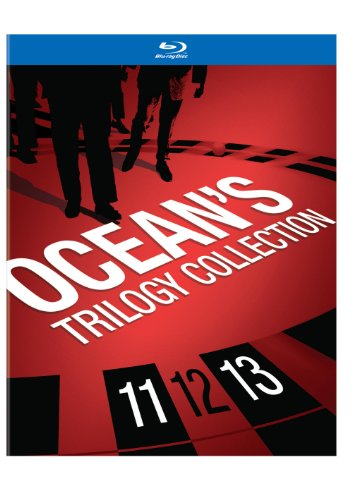 Blu-ray : Ocean's 3-Film Collection (Ocean's Eleven / Ocean's Twelve / Ocean's Thirteen) (Boxed Set, Gift Set, Dolby, 4 Disc)