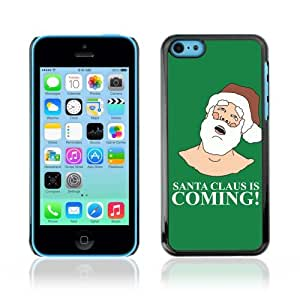 YOYOSHOP [Funny Santa Is Coming ] Apple iPhone 5C Case by icecream design