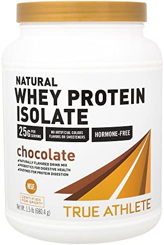 True Athlete Chocolate Probiotics Digestive