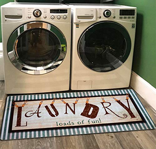 Used, Ukeler Laundry Rug, Non Skid Laundry Room Wash House for sale  Delivered anywhere in USA