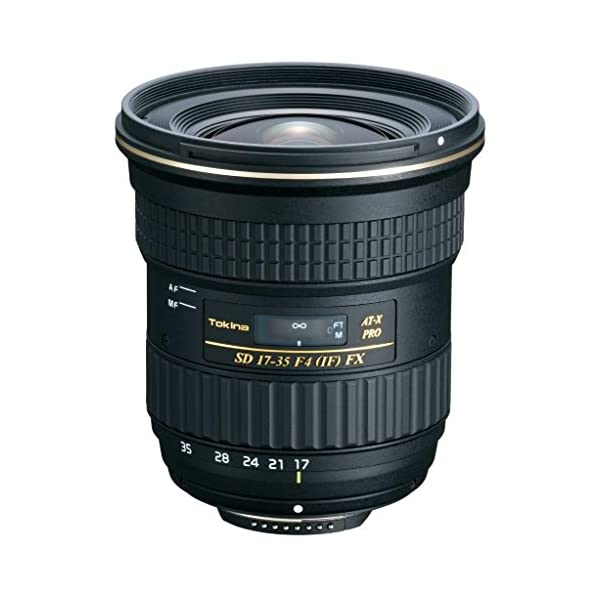 RetinaPix Tokina at-X Pro FX AF-X 17-35mm Zoom Lens for Nikon DSLR Camera (Black)