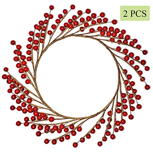 Oval Berry Wreath - 1