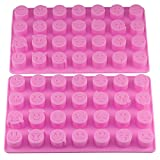 Best Candy Baking - Mujiang 28-cavity Emoji Emoticon Cake Moulds Smiley Silicone Review