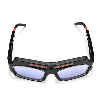 rokoo sola Gafas de protección solar Auto oscurecimiento soldadura Gafas Ojos Protección Soldador vasos