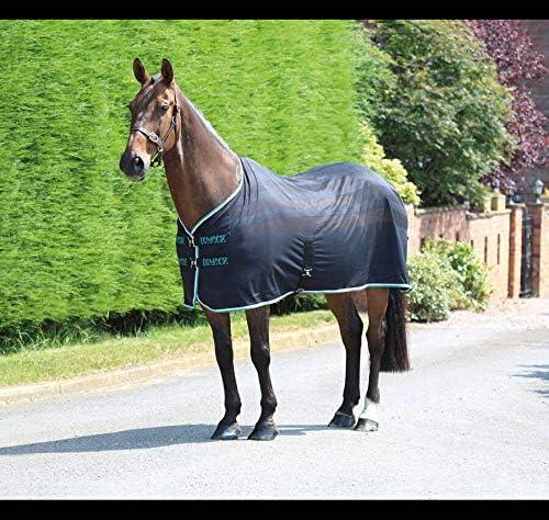 Black 75 Shires Tempest Original Scrim Cooler Horse//Pony Rug in Black 63