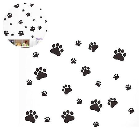 Hilai Póster Divertido de Huellas de Perro y Gato habitación de ...