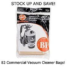 "(82) C2401 Backpack Vacuum Cleaner Replacement Bags Hoover 401000BP"""