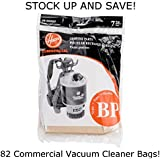 (82) C2401 Backpack Vacuum Cleaner Replacement Bags Hoover 401000BP