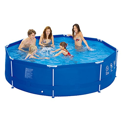 Jilong-6920388626958-Stahlrahmenbecker-runder-Pool-Durchmesser-300-x-76-cm-Sirocco-blau