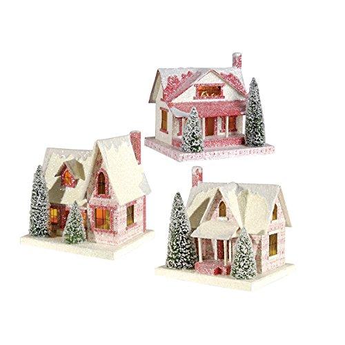 vintage putz houses - 8