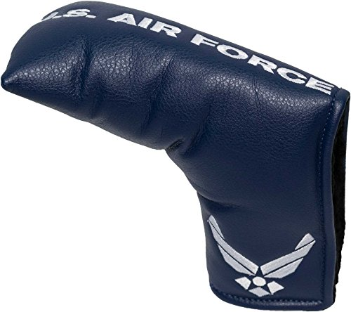 Team Golf Military Air Force Golf Club Vintage Blade Putter Headcover, Form Fitting Design, Fits Scotty Cameron, Taylormade, Odyssey, Titleist, Ping, Callaway