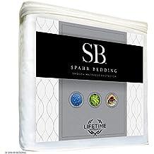 Spahr Bedding Mattress Protector - Superior Smooth Mattress Cover - Hypoallergenic, & Breathable For Premium Comfort - 100% Waterproof - Vinyl Free Bedding - Crib Size