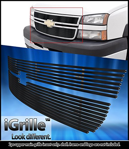 Stainless Steel eGrille Billet Grille Grill For 2006 Chevy Silverado 1500/05-06 2500HD/3500