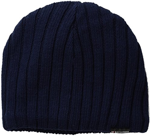 ben-sherman-mens-rib-knit-beanie-staples-navy-one-size