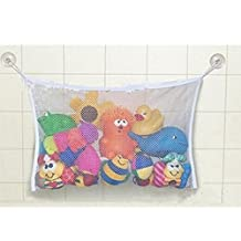 GUAngqi Baby Bath Time Toy Storage Suction Bag Mesh Net Bathroom Organiser by Gu Angqi