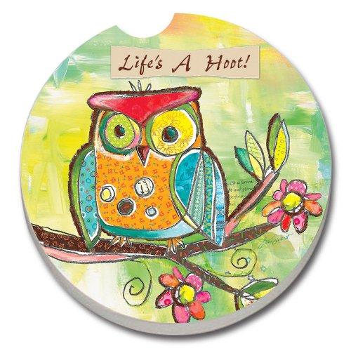 Lifes Hoot Owl Single Coaster