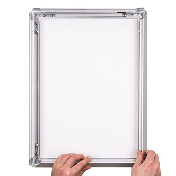 A4 Poster Display Frame with 25mm Aluminium Snap Frame. Code APF4 ...