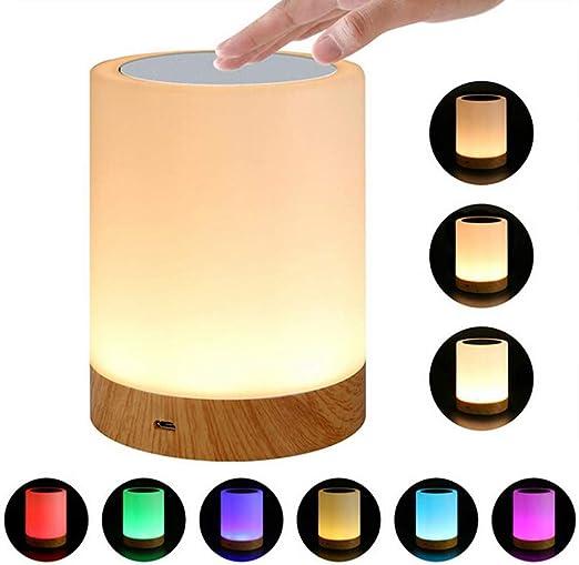 Recargable LED Antorcha Luz de Noche Innovadora pequeña Mesa de ...