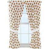 NCAA Clemson Tigers ''Mascot'' Window Curtain Panels - Set of 2 - 36'' x 48''