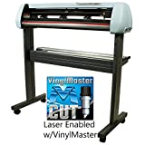 34 Inch USCutter SC2 Series Vinyl Cutter Laser Enabled w/VinylMaster Design/Cut Software