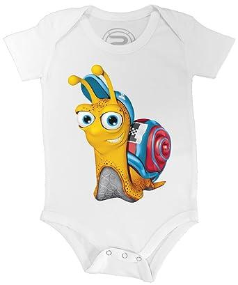 PIXEL EVOLUTION Body Bebé 3D Turbo EL Caracol en Realidad Aumentada Bebé: Amazon.es: Ropa y accesorios