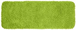 Garland Rug Jazz Runner Shaggy Washable Nylon Rug, 22-Inch by 60-Inch, Lime Green