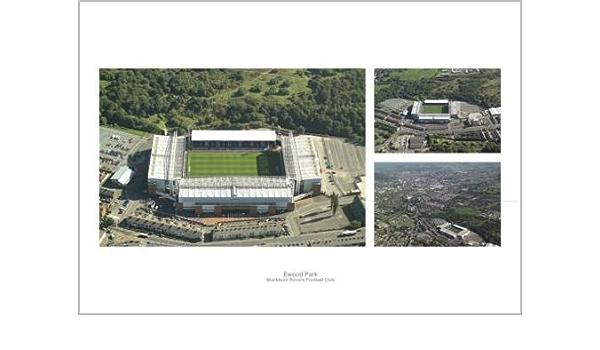 Blackburn Rovers Ewood Park del estadio del F.C, shalke ...