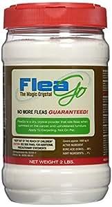 FleaGo Flea Control Powder for Carpet and Floors, 2 lb Jar