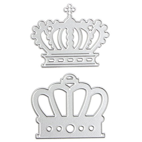 - Mimgo Imperial Crown Metal Cutting Dies Stencil For Scrapbooking Paper Cards Decor DIY