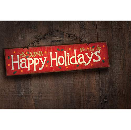 - Renaiss 5x3ft Vinyl Merry Christmas Photography Backdrop Happy Holidays Rustic Wooden Wall Background Chritmas Happy New Year Party Banner Interior Decor Photo Studio Props