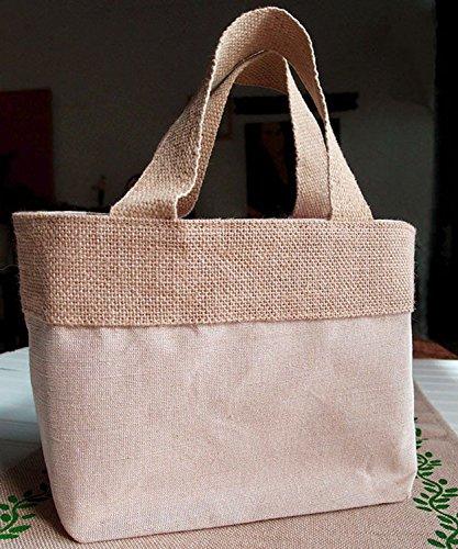 Natural Jute Burlap Bags  | Eco Friendly & Reusable Jute Cot