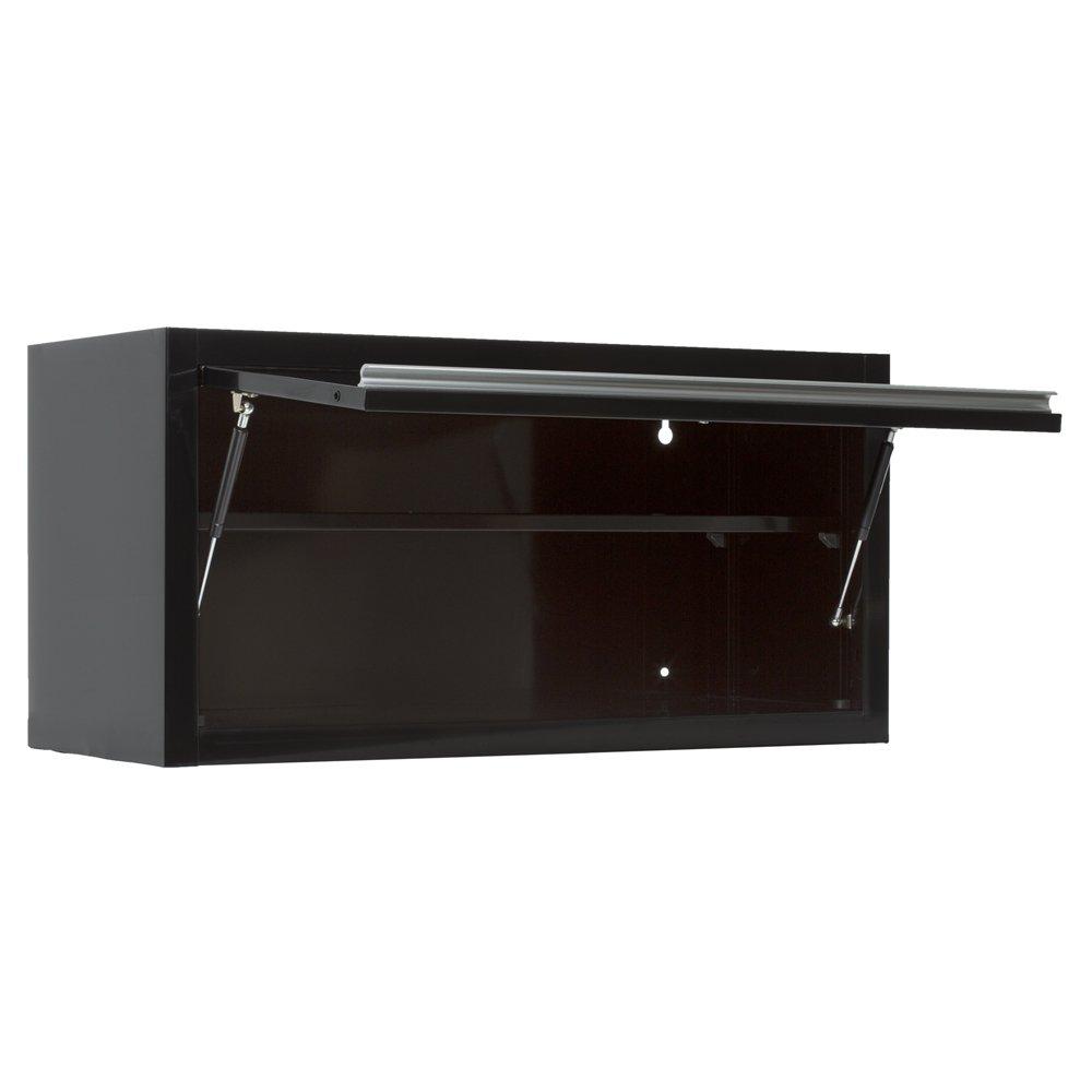 Viper Tool Storage V36WCBL 36-Inch 18G Steel Wall Cabinet, Black