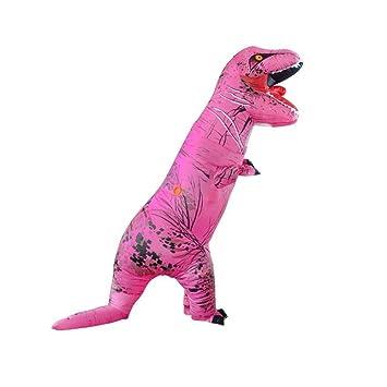 CLCYL Traje Inflable de Dinosaurio Traje de Dinosaurio ...
