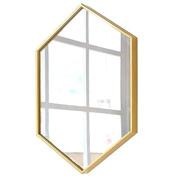 Amazon.com: Mirrors Bathroom Mirror Wall-Mounted Bathroom ...