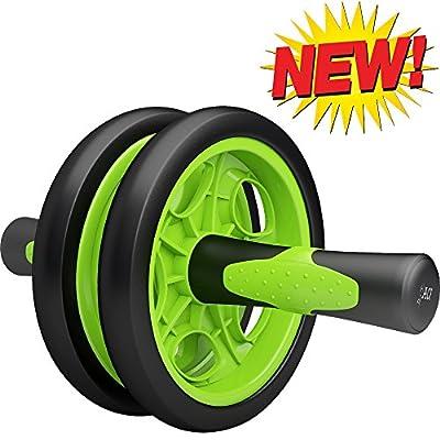 ACF Ab Roller for Abdominal Exercise - Best Ab Power Wheel for Strengthening Core