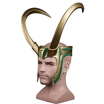 Amazon.com: K & E ke 2017 Thor 3loki Rocky - Máscara de ...