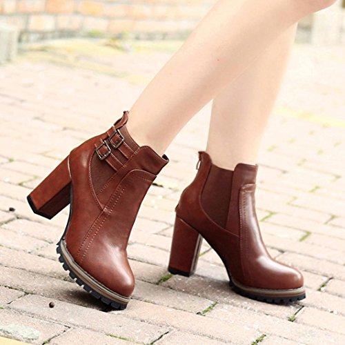compensées chaussures 5 Coloré femme brown TM Brown Taille Noir TEqqv