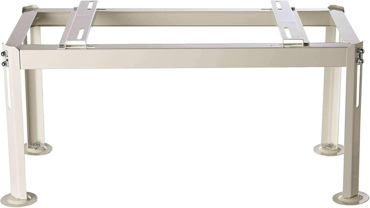 Senville GS-380 Heavy Duty Ground Stand for Ductless Mini Split AC Heat Pump, Off White