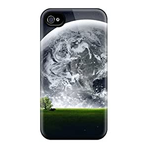 New Arrival Premium 4/4s Cases Covers For Iphone (clouds Outer Space Planets Earth Creation)
