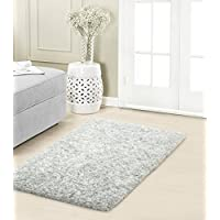 Vista Living Sophia Plush 27x45 in. Accent Rug, Dusk Blue