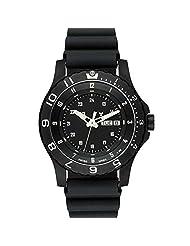 Traser 100325 Men's P 6600 Type 6 MIL-G Black Dial Rubber Watch
