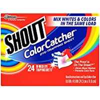 48-Count Shout Color Catcher Washer Sheets + $5 GC