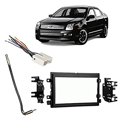 51zfoJYn1LL._SX425_ amazon com fits ford fusion 2006 2009 double din stereo harness