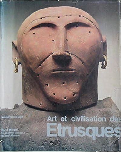 Livres gratuits en ligne Art et civilisation des etrusques pdf, epub ebook