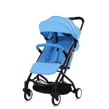PIAOLING Cochecito de bebé Caminando 2 en 1 Cochecito de ...