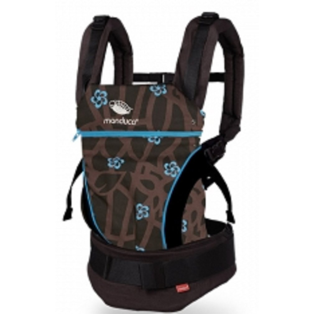 26aa7e5cf26 Amazon.com   MANDUCA Limited Edition Mosquitoes Baby Carrier New Style  (Blue)   Baby